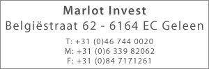 Marlot Invest Adres
